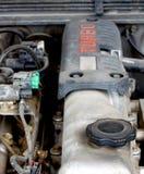 Motor velho 2 de turbo do diesel imagens de stock