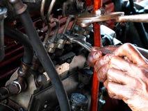 Motor velho Fotos de Stock