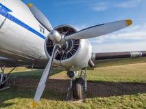 Motor velho do avião Foto de Stock Royalty Free