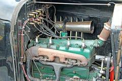Motor velho do ford do vintage Fotografia de Stock