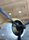 Motor velho do plano de hélice Imagem de Stock Royalty Free