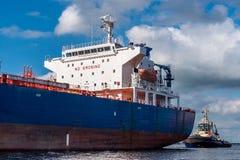 Motor vessel hans Scholl Stock Photos