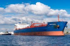 Motor vessel hans Scholl Stock Photo