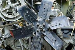 Motor viejo imagenes de archivo
