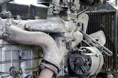 Motor viejo anticuado foto de archivo libre de regalías