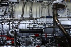 Motor viejo del aeroplano imagen de archivo libre de regalías