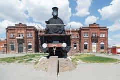 Motor viejo del monumento Fotos de archivo libres de regalías