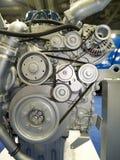 Motor von LKW lizenzfreies stockfoto