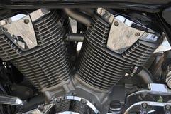 Motor von motobike Stockfotografie