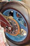 Motor wheel closeup Stock Images