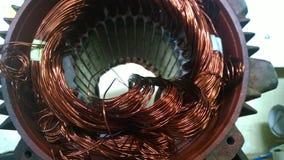 Motor winding Stock Photo