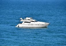 Motor yacht Royalty Free Stock Photo