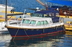 Motor yacht Stock Photos