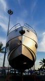 Motor yacht Azimut Royalty Free Stock Image