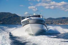 Motor yacht boat. Motor boat, rio yachts best italian yacht Stock Image