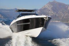 Motor yacht boat. Motor boat, rio yachts best italian yacht Stock Photography