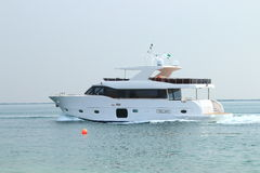 Motor yacht Royalty Free Stock Photography