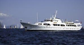 motor yachten Royaltyfria Foton