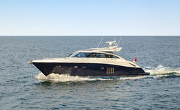 Motor yatch Stock Photo