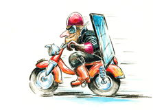 Motorbike Stock Photography