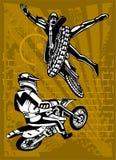 Motorbike. Royalty Free Stock Image