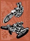 Motorbike. Royalty Free Stock Photos
