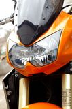 Motorbike. Detail shot,close up Stock Photography