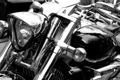 Motorbike. Detail shot,close up Stock Photo