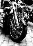 Motorbike. Detail shot,close up Stock Image