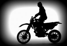 Motorbike. Royalty Free Stock Photos