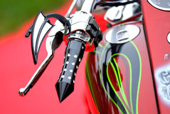 Motorbike. Great motorbike and motorcycle concept and close up Stock Image