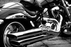 Motorbike. Detail shot,close up Royalty Free Stock Image