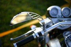 Motorbike. Detail shot,close up Stock Photos