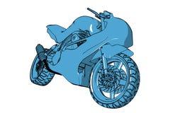 motorbike Arkivbilder