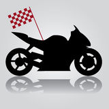 Motorbike abstraction  Stock Image