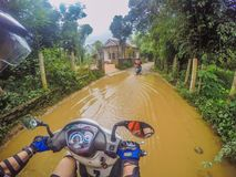 Motorbike adventure Stock Images