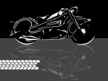 Motorbike background Royalty Free Stock Photos