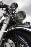 Motorbike on a background sky Stock Image