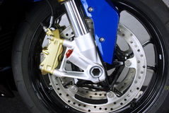 Motorbike brake Royalty Free Stock Image