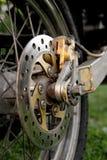 Motorbike brakes Royalty Free Stock Photos