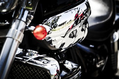 Motorbike. Royalty Free Stock Images
