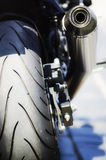 Motorbike. Royalty Free Stock Photo