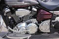 Motorbike close-up Royalty Free Stock Photo