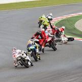 Motorbike crash Stock Photography