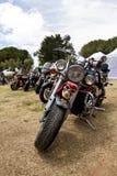 Motorbike. CUBELLAS, SPAIN - JUNE 09: XXIII Harley-Davidson Club Catalunya's International Rally on june 09, 2013 in Cubelles, Spain Stock Images