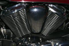 Motorbike cylinder engine Royalty Free Stock Photo