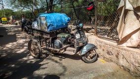 Motorbike in Delhi, India Stock Photography