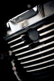 Motorbike, detail of the part of the mechanics Royalty Free Stock Photo