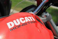 Motorbike details Stock Images