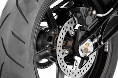 Motorbike disc brake Royalty Free Stock Photography